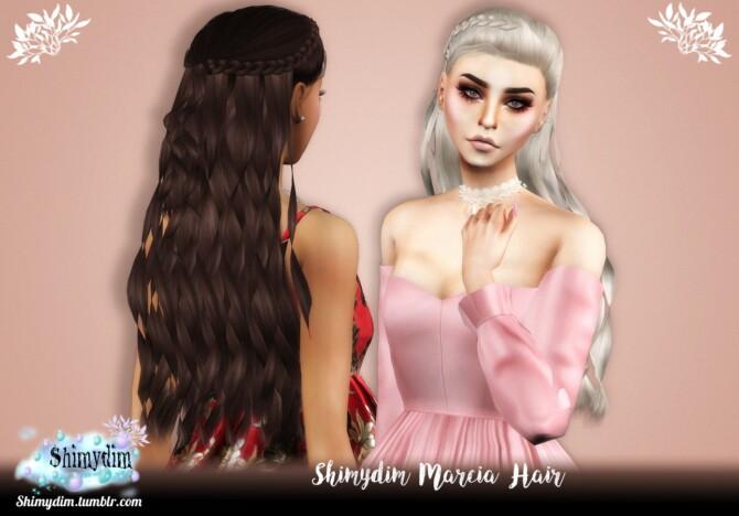 Sims 4 Marcia Hairstyle Naturals + Unnaturals at Shimydim Sims