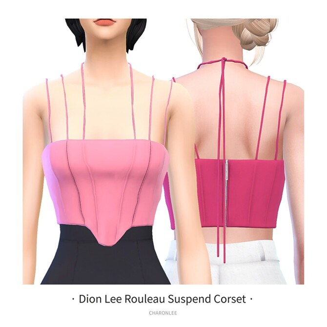 Sims 4 Rouleau Suspend Corset at Charonlee