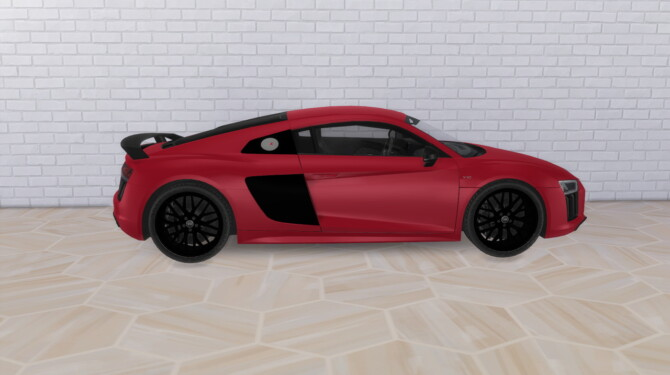 Sims 4 2017 Audi R8 at Modern Crafter CC