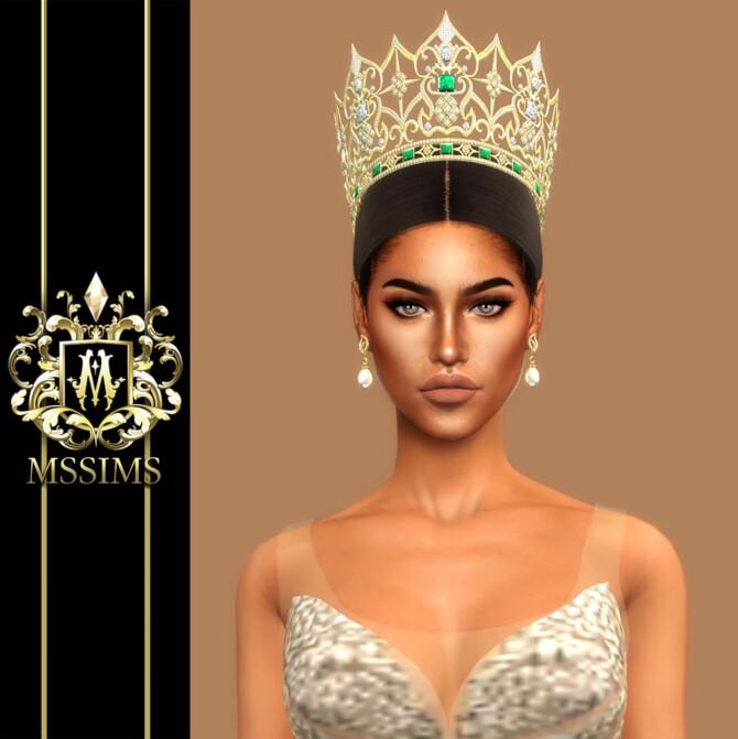 Sims 4 MISS GRAND THAILAND 2017 CROWN at MSSIMS