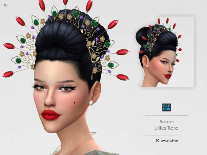 Sims 4 UliKa Tiara RC at Elfdor Sims