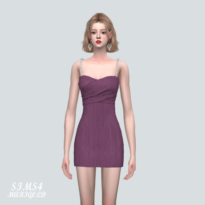 Sims 4 Mini Dress 90 X TT at Marigold
