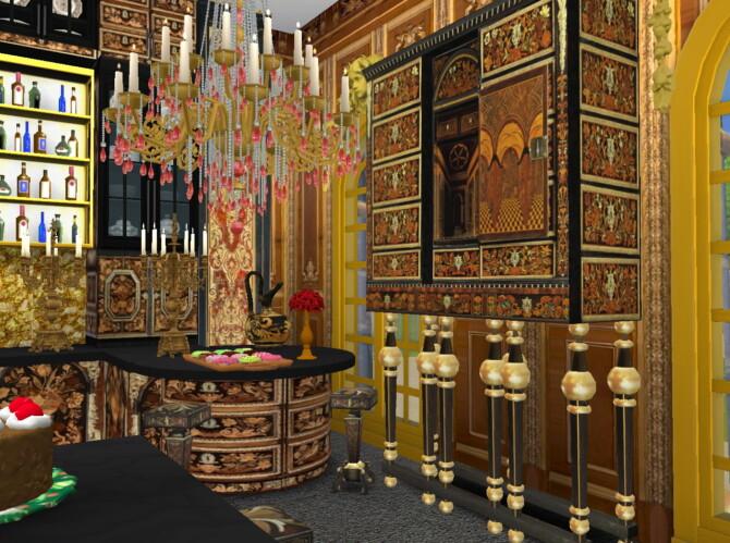 Sims 4 Boulle Kitchen Set at Anna Quinn Stories