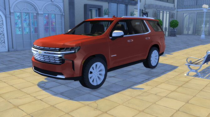 Sims 4 2021 Chevrolet Tahoe at LorySims