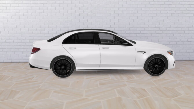 Sims 4 2018 Mercedes AMG E63 S at Modern Crafter CC