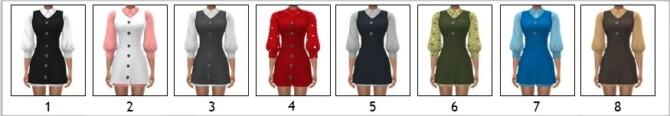 Sims 4 EP09 LAYERED DRESS at Sims4Sue