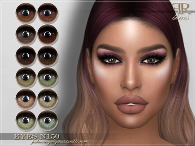 Sims 4 FRS Eyes N150 by FashionRoyaltySims at TSR