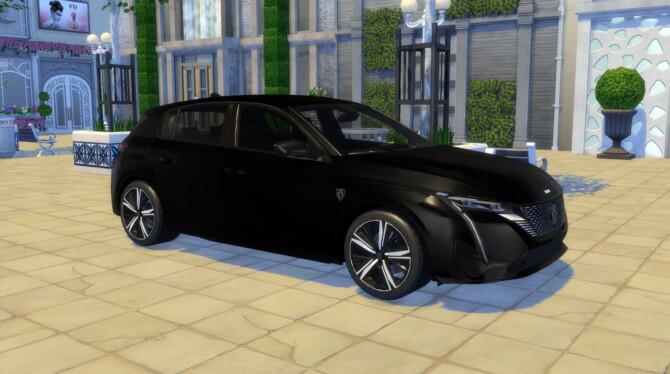 Sims 4 2022 Peugeot 308 at LorySims