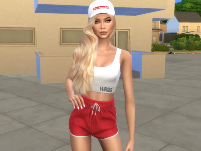 Sims 4 Anya Alekseeva by divaka45 at TSR