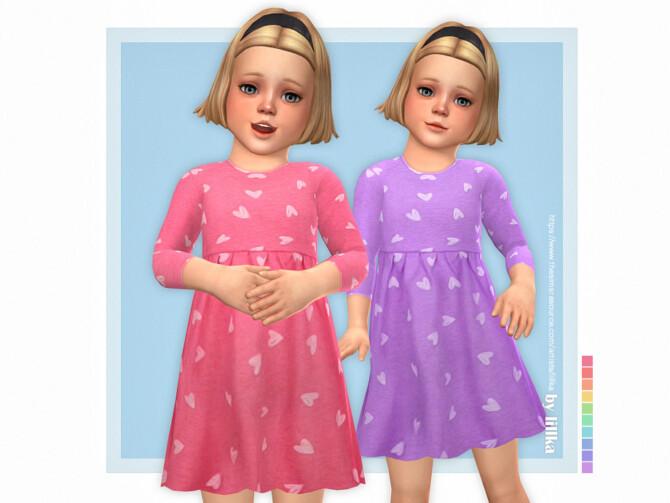 Sims 4 Martha Dress by lillka at TSR