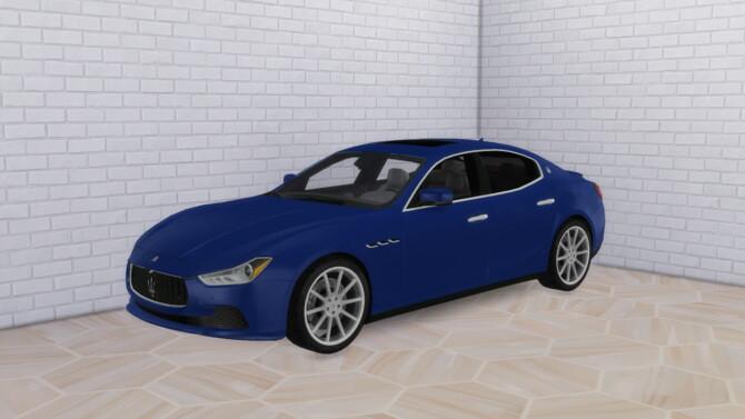 Sims 4 2016 Maserati Ghibli at Modern Crafter CC