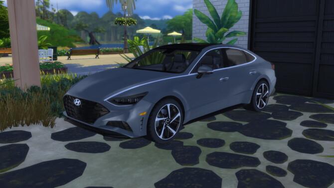 Sims 4 2020 Hyundai Sonata at LorySims