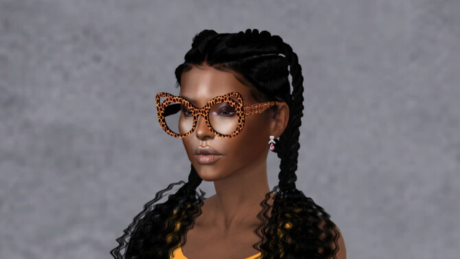 Sims 4 CHEGAY GLASSES at Ruchell Sims