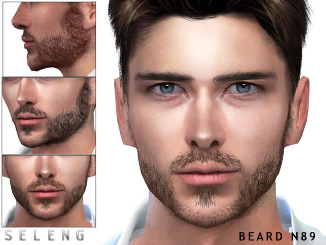 Sims 4 Beard N89 by Seleng at TSR
