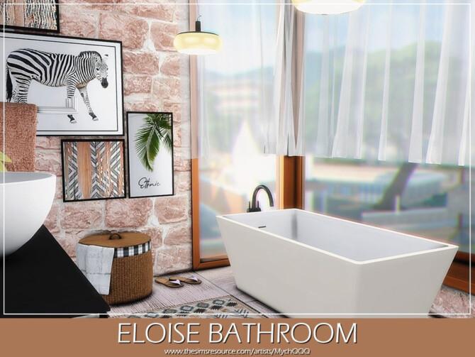 Eloise Bathroom by MychQQQ at TSR » Sims 4 Updates