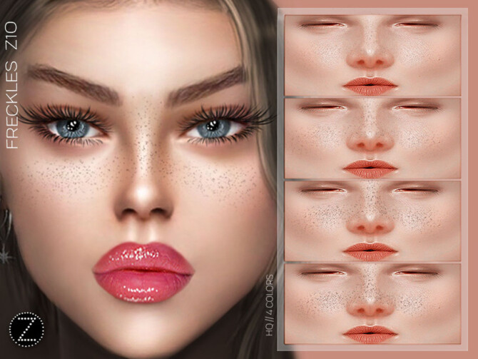 Sims 4 FRECKLES Z10 by ZENX at TSR