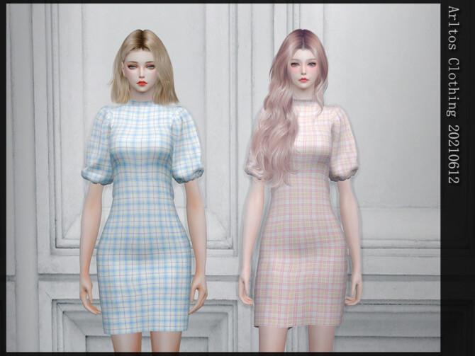 Sims 4 Dress 20210612 by Arltos at TSR