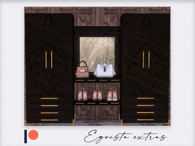 Sims 4 Egoista bedroom part 2 by Winner9 at TSR