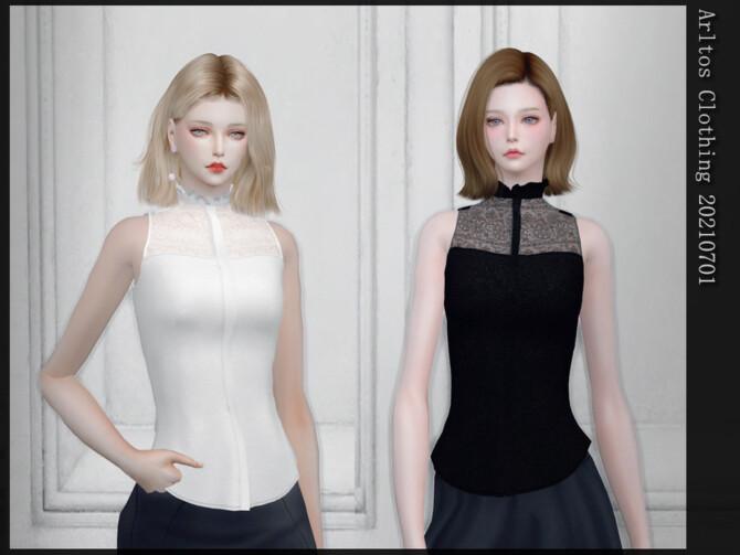 Sims 4 Clothing 20210701 (top) by Arltos at TSR