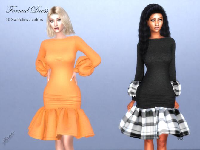 Sims 4 Formal Dress by pizazz at TSR