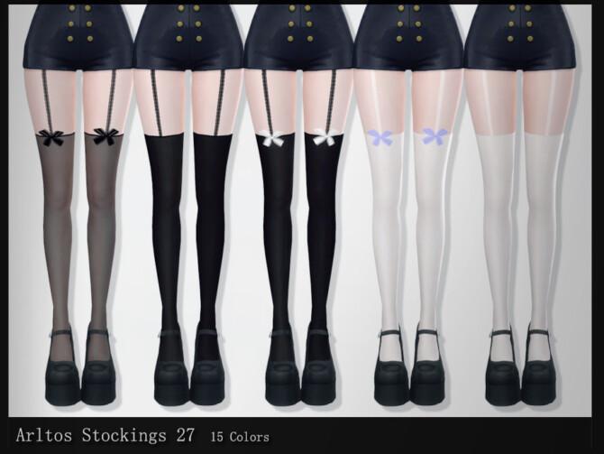 Sims 4 Stockings 27 by Arltos at TSR