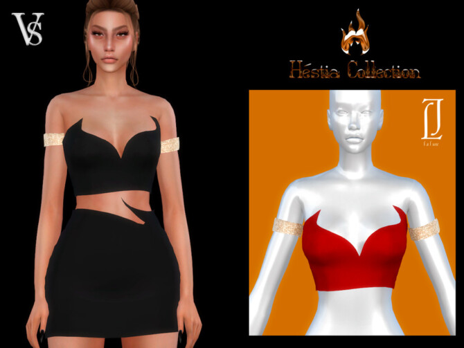 Sims 4 Top II Hestia Collection by Viy Sims at TSR