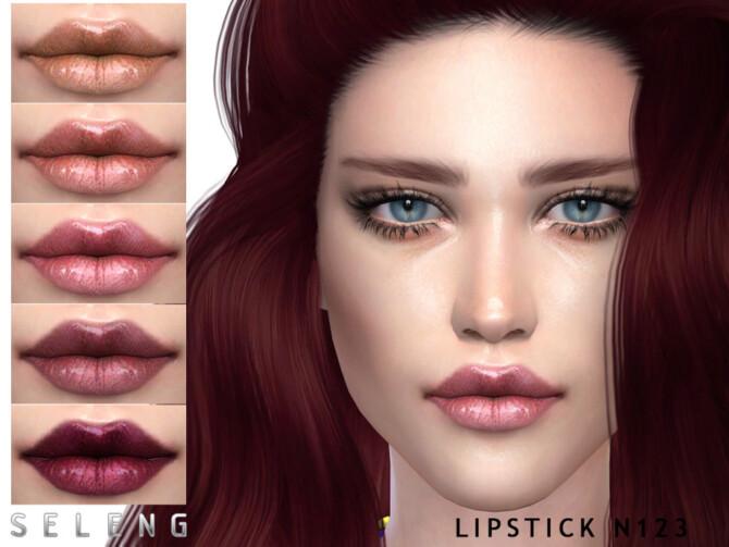 Sims 4 Lipstick N123 by Seleng at TSR