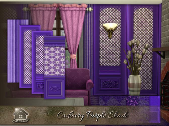 Sims 4 Cadbury Purple Shade by emerald at TSR