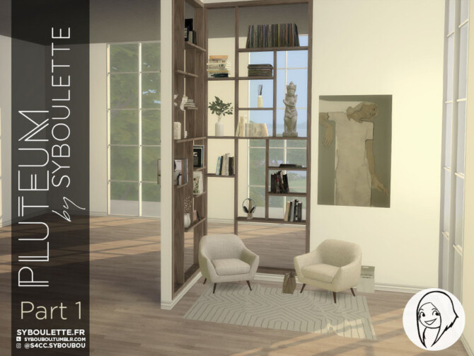 Sims 4 Pluteum set (Part 1) by Syboubou at TSR