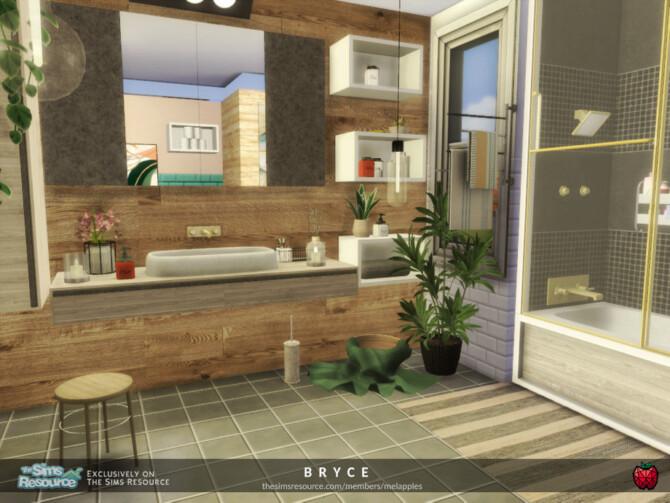 Sims 4 Bryce bathroom by melapples at TSR