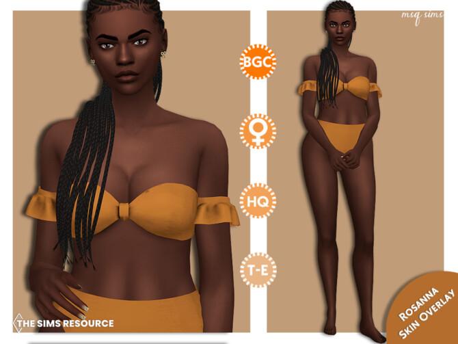 Sims 4 Rosanna Skin Overlay by MSQSIMS at TSR