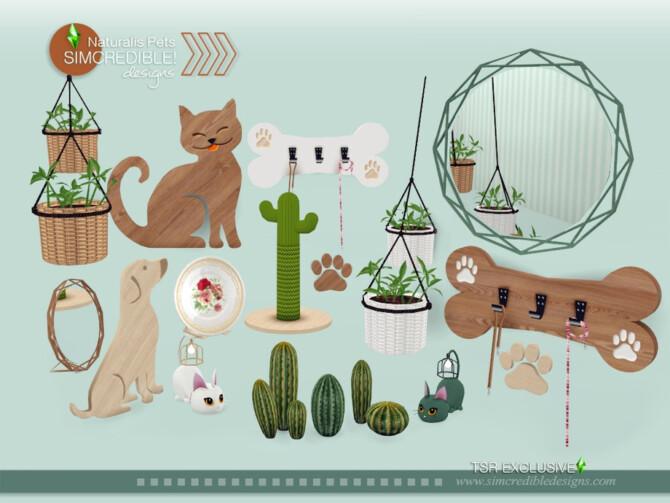 Sims 4 Naturalis Pets decor by SIMcredible at TSR