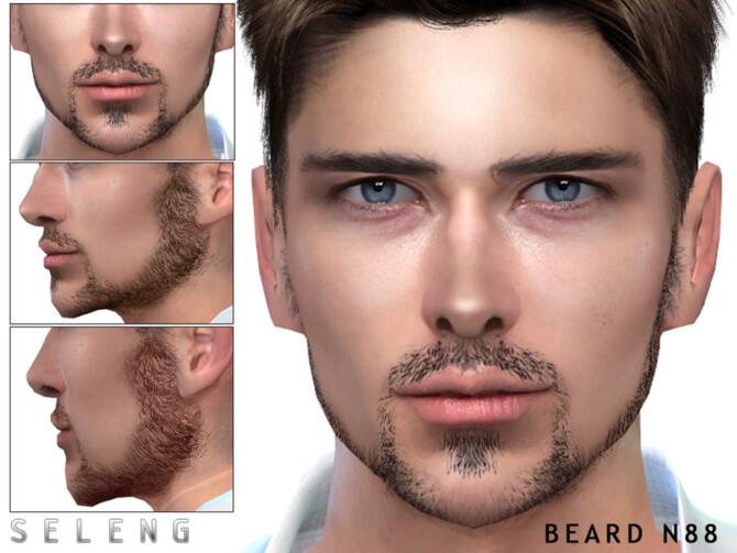 Sims 4 Beard N88 by Seleng at TSR
