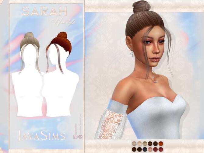 Sims 4 Sarah Hair by JavaSims at TSR