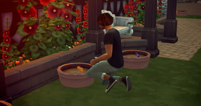 Sims 4 Nasturtium And Pansy Edible Flowers Harvestables at Mod The Sims 4