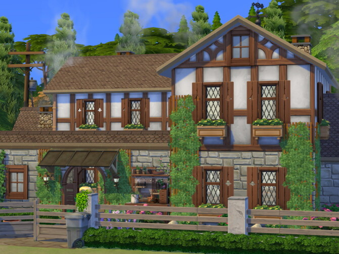 Sims 4 Family Farmhouse by Flubs79 at TSR