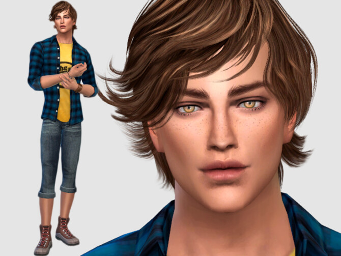 Sims 4 Daniele Greco by DarkWave14 at TSR
