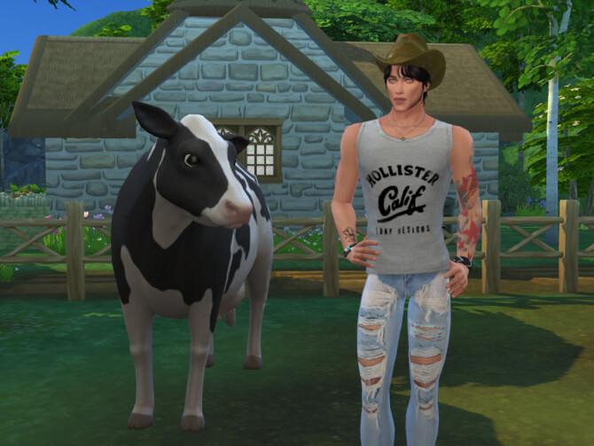 Sims 4 Jack Sanna by DarkWave14 at TSR
