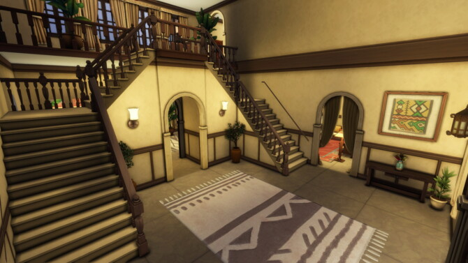 Sims 4 Mediterranean Mansion by plumbobkingdom at Mod The Sims 4