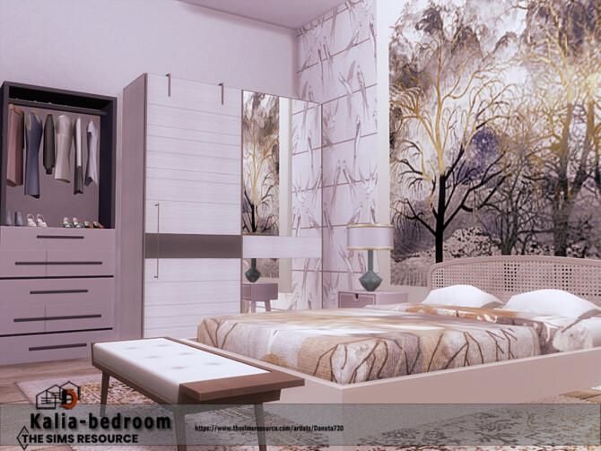 Sims 4 Kalia bedroom by Danuta720 at TSR