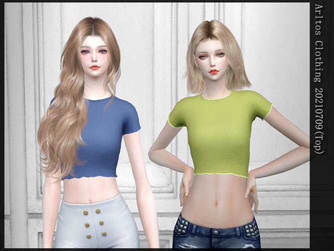 Sims 4 20210709 top by Arltos at TSR