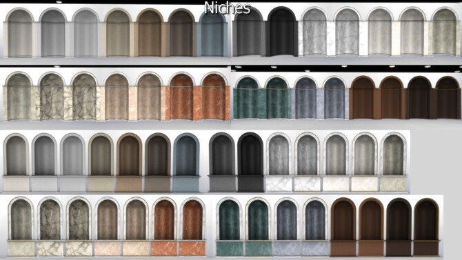 Sims 4 Ionic Order Set Part II by TheJim07 at TSR