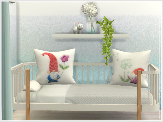 Sims 4 Daphne Nursery Cushions by philo at TSR
