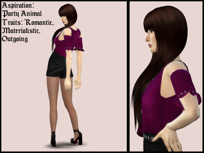 Sims 4 Rose Feng by YNRTG S at TSR
