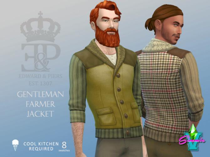 Sims 4 Edward & Piers Gentleman Farmer Jacket by SimmieV at TSR
