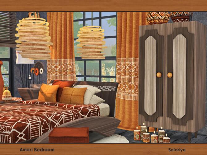 Sims 4 Amari Bedroom by soloriya at TSR
