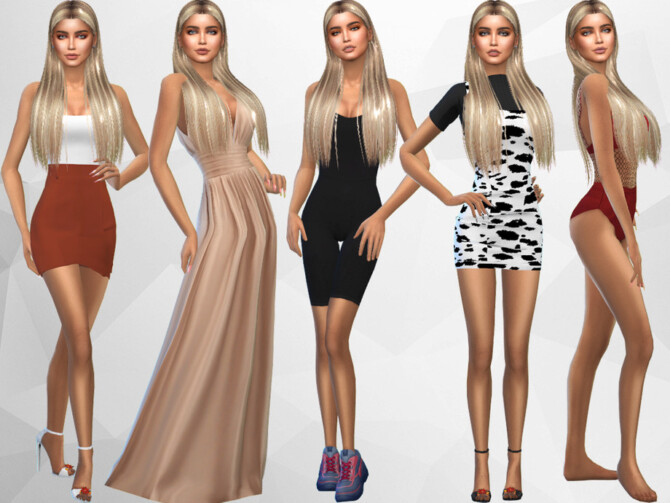 Sims 4 Ophelia Dalton by divaka45 at TSR