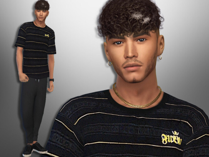 Sims 4 Alejandro Francis by divaka45 at TSR