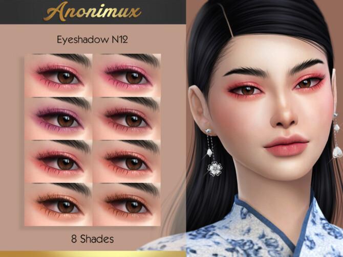 Sims 4 Eyeshadow N12 by Anonimux Simmer at TSR