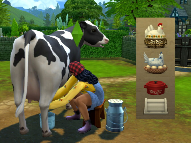 Sims 4 Portable Cooling Containers (Milk, Eggs, Prepared Foods) at Mod The Sims 4